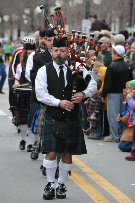 David Corbett is an award winning piper. (Memphis Scots)