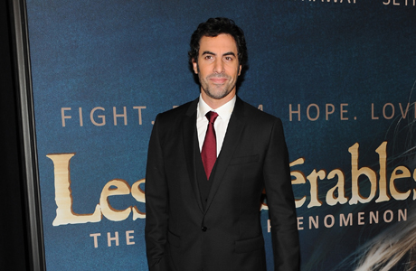 No makeup, no costumes, no funny accents ... just actor Sacha Baron Cohen. (AP)
