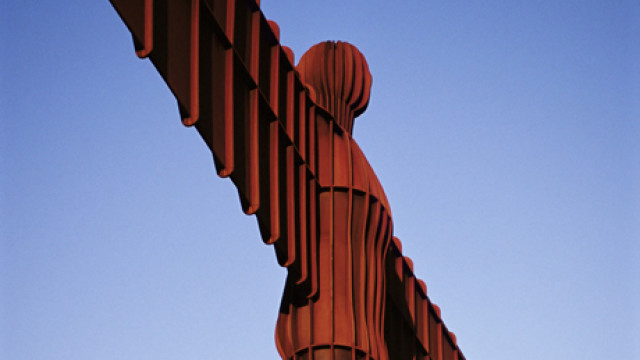 The Angel of the North, Newcastle upon Tyne, Tyne and Wear, Engl
