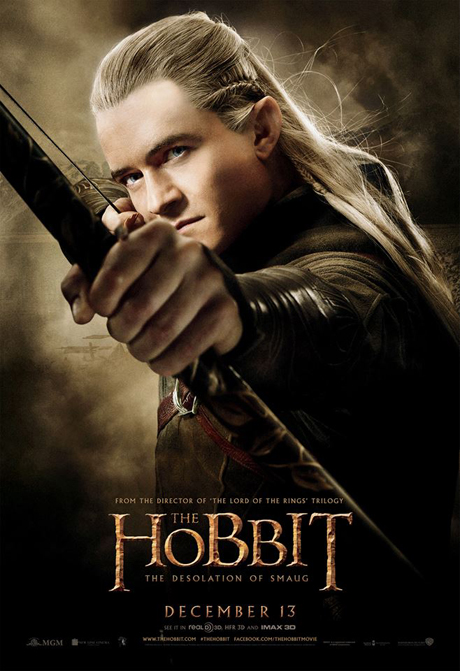 Orlando Bloom as Legolas. (MGM)