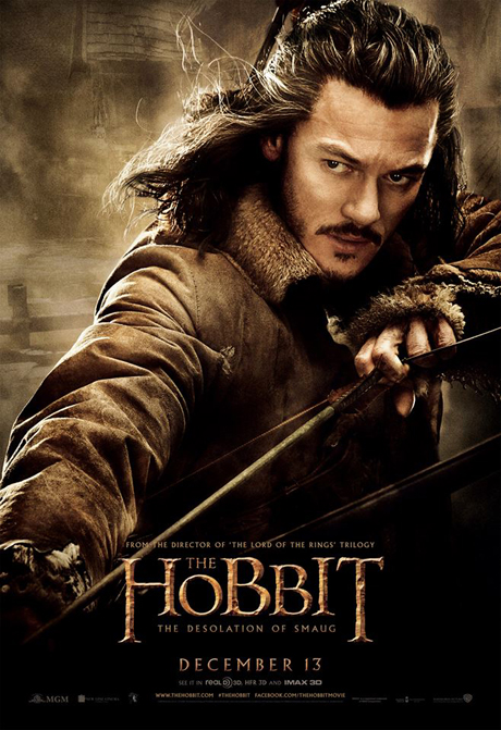 Luke Evans as Bard the Bowman. (MGM)