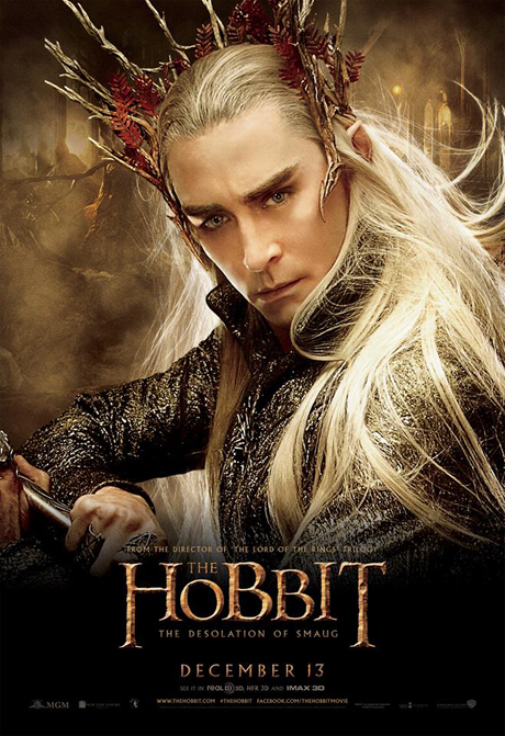 Lee Pace as Thranduil. (MGM)