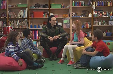 Tom Hiddleston as Loki (Comedy Central)