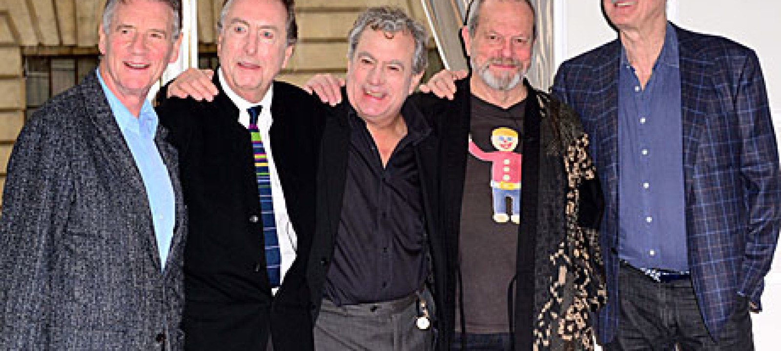 The Monty Python team 2013
