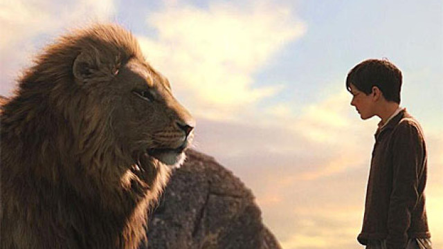 Aslan and Edmund, 'The Chronicles of Narnia'