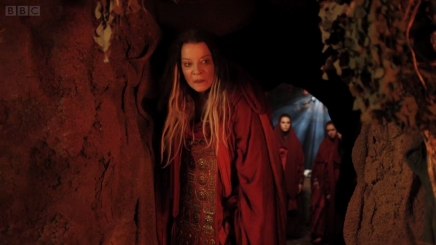 Clare Higgins in 'The Night of the Doctor'