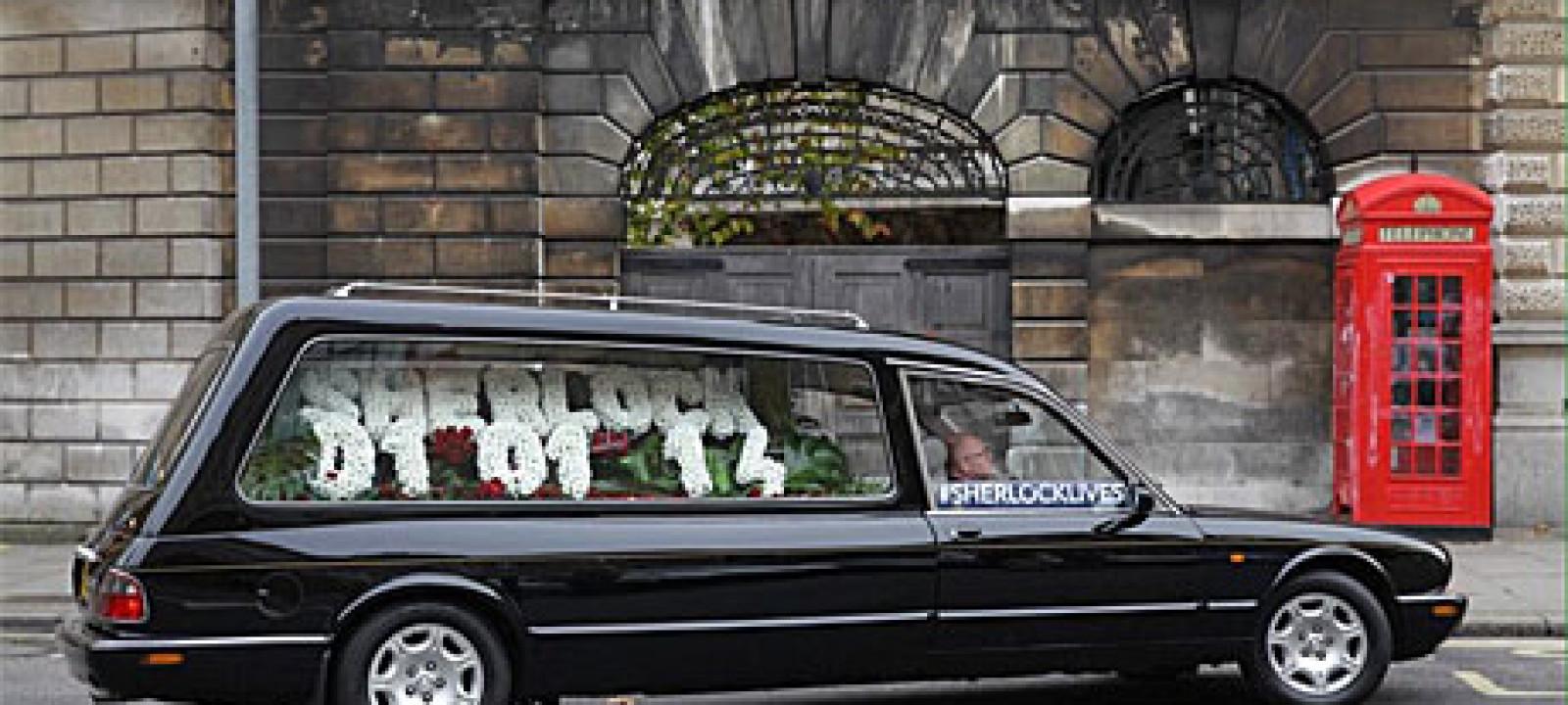 Sherlock's hearse