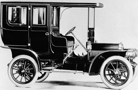 The 1908 Cadillac. (Photo: AP)