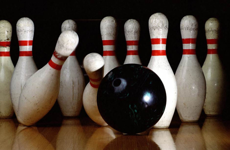 Check out your local bowling alley, there may be a league. (KU)