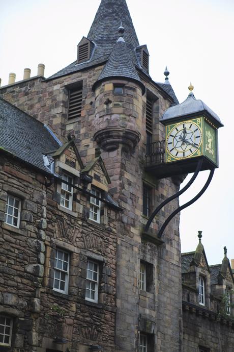 Canongate Tolbooth, Royal Mile, The Old Town, Edinburgh, Scotlan (Amanda Hall/Robert Harding /AP )