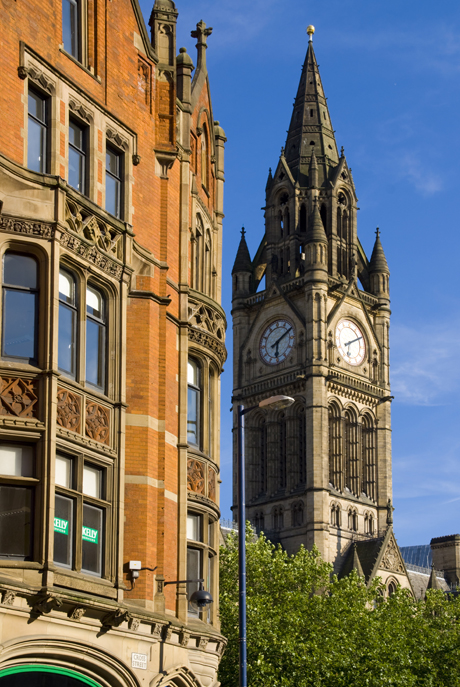 Town Hall, located in Manchester, England ... (Charles Bowman/Robert Harding /AP)