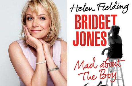 Helen Fielding releases the Bridget Jones sequel, Mad About the Boy. (Random House)