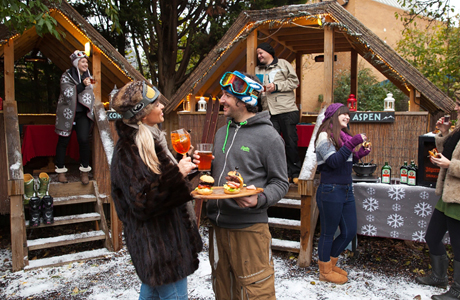How we like British culture, apparently some Brits enjoy American winters in Aspen, Colorado. (LB)