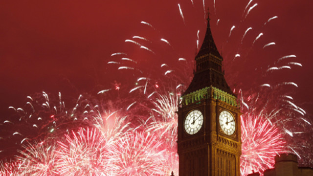 Britain New Years Day Celebrations