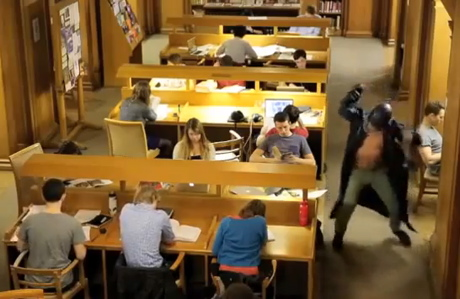 Oxford University is taken over by the Harlem Shake. (YouTube)