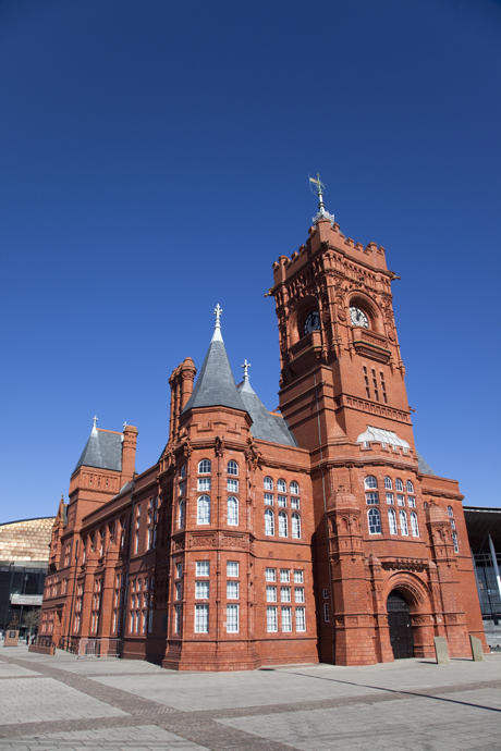 The Pierhead Building was the headquarters for the Bute Dock Company in 1897. (Donald Nausbaum/Robert Harding/AP)