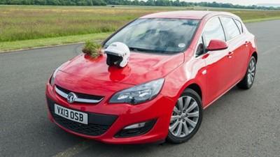 The Vauxhall Astra (TopGear.com)