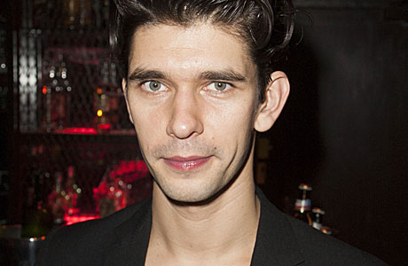 Ben Whishaw: he is the champion, my friends. (AP images)