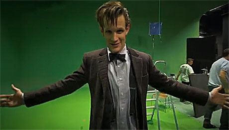 Matt Smith: Fancy a hug?
