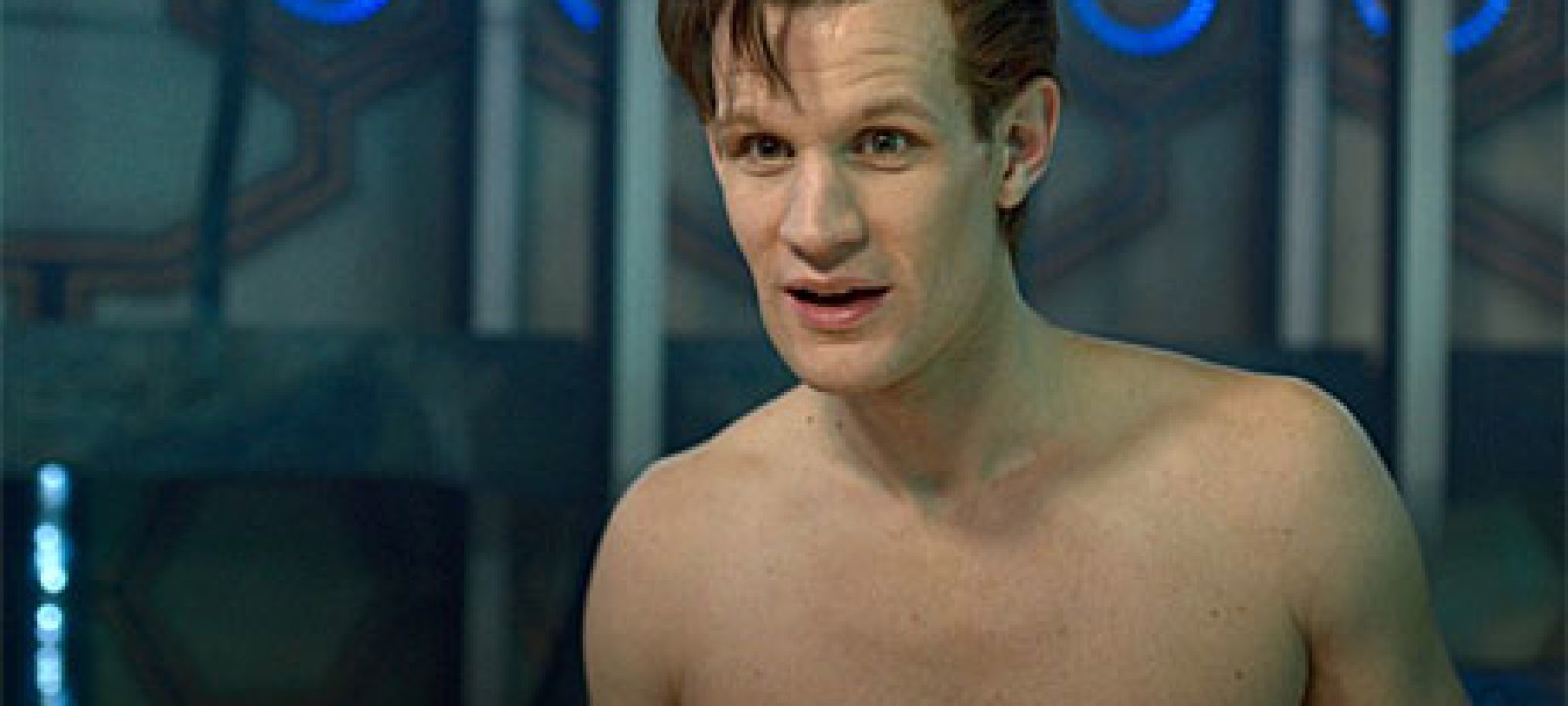 Matt Smith, naked – The Time of the Doctor