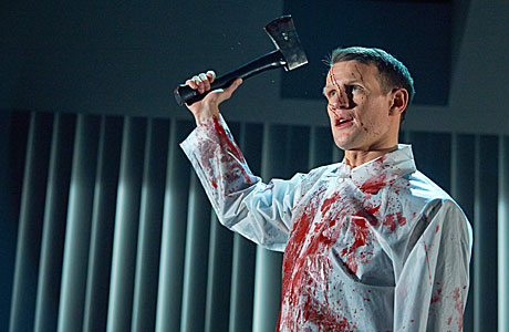Matt Smith in 'American Psycho'