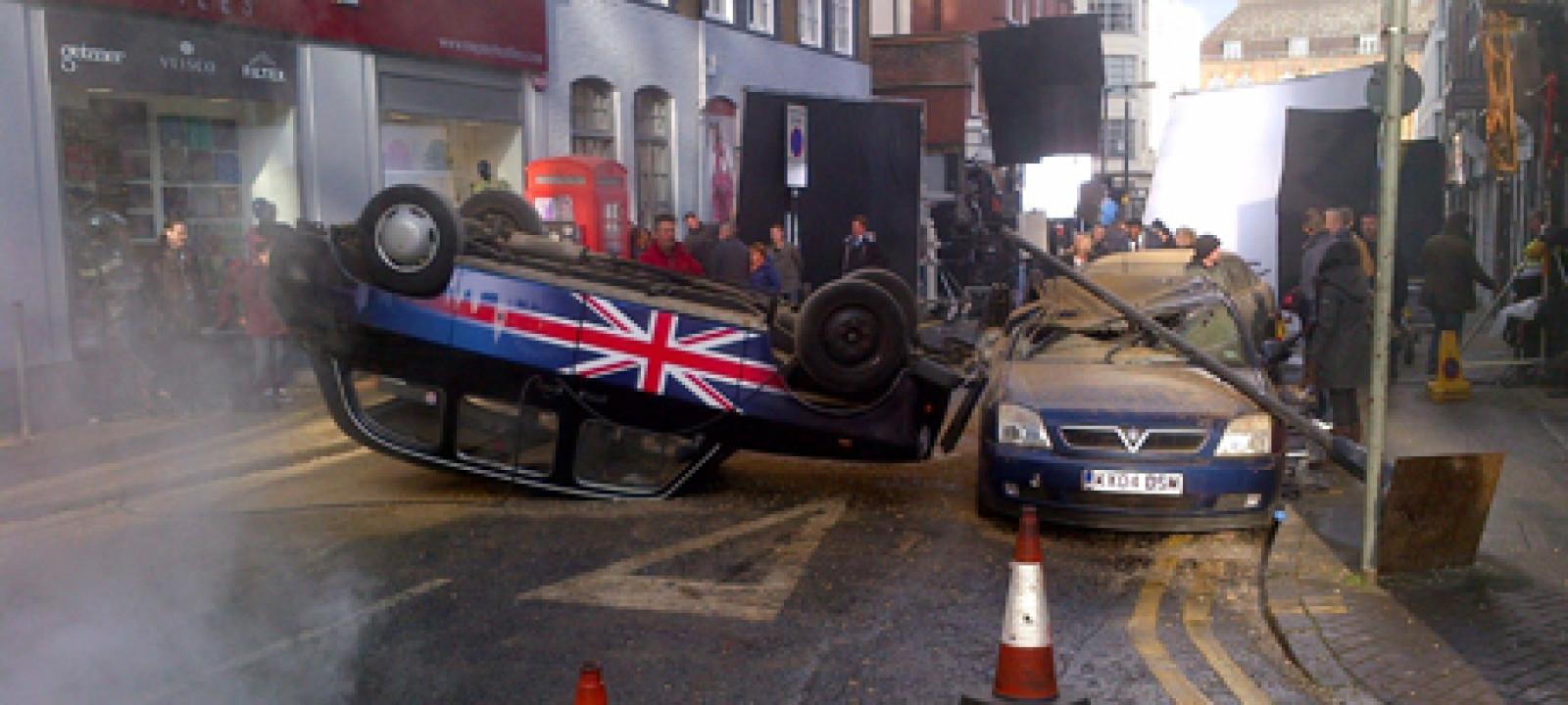 '24' TV series Filming, London, Britain – 22 Jan 2014