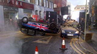 '24' TV series Filming, London, Britain – 22 Jan 2014
