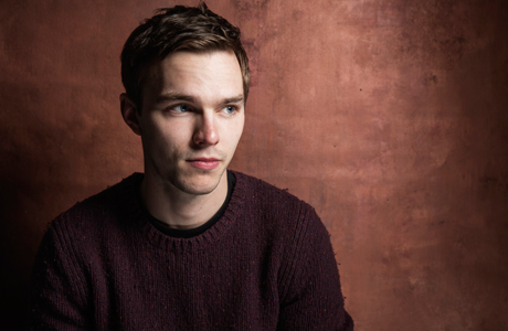 Nicholas Hoult poses for a portrait at Quaker Good Energy Lodge with GenArt and the Collective. At the Sundance Film Festival, on Saturday, Jan. 18, 2014 in Park City, Utah. (Photo by Victoria Will/Invision/AP)