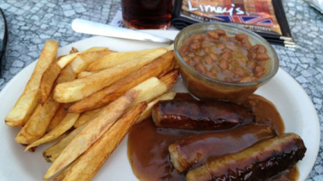 Bangers, Beans and Chips