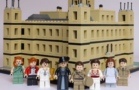 Look It S Downton Abbey The Lego Version Anglophenia Bbc
