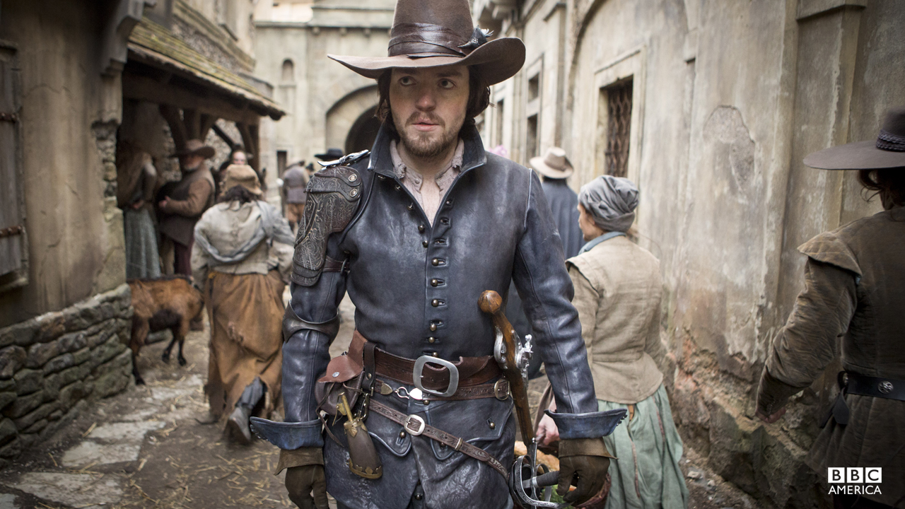 The Musketeers First Look Bbc America