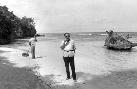 Ian Fleming, creator of James Bond.  COPYRIGHT EXPRESS NEWSPAPERS (Express Newspapers via AP Images)