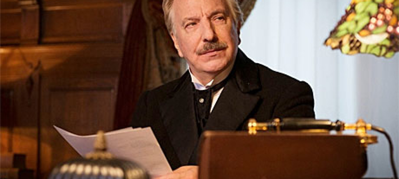 Watch Alan Rickman And Richard Madden In A Promise