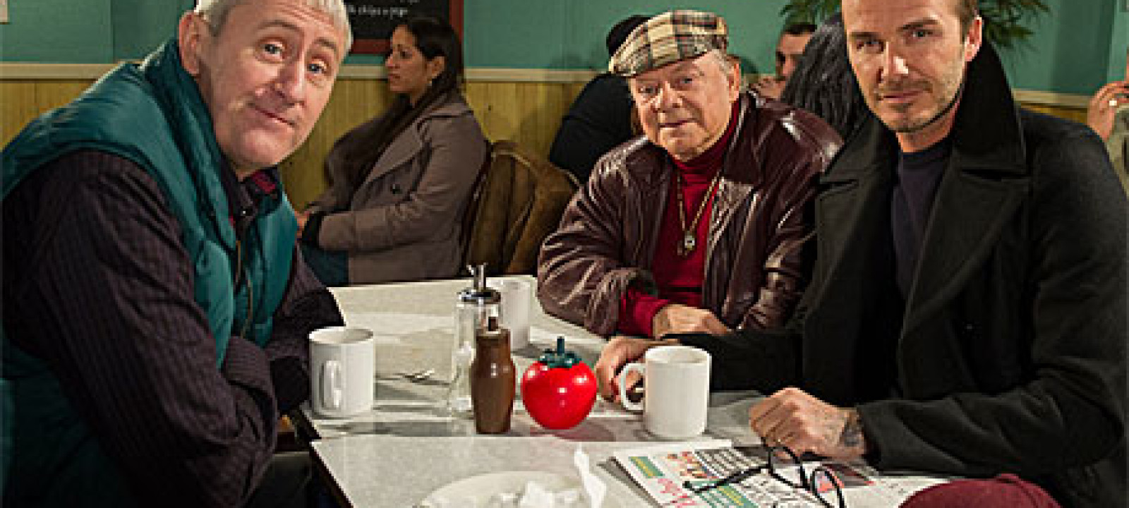 David Beckham in Only Fools And Horses