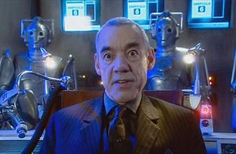 Roger Lloyd-Pack in Doctor Who's 'Rise of the Cybermen'