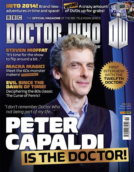 Doctor Who magazine - Peter Capaldi