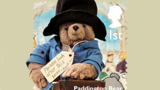 Paddington Bear stamp