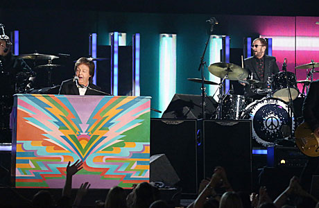 It's the Beatles! Well, kinda. (Pic: AP Images)