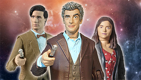 Peter Capaldi's Doctor Who toy