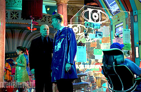 Christoph Waltz and David Thewlis in 'The Zero Theorem'