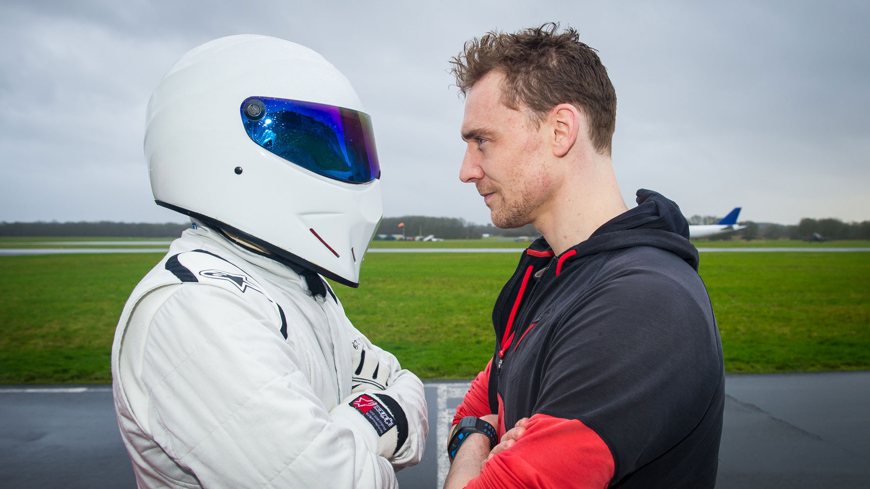 The Stig and Tom Hiddleston face off