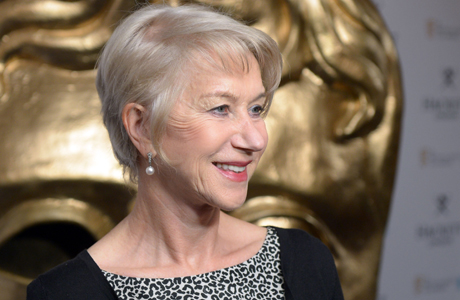 Dame Helen Mirren at the BAFTA Fellow Lunch on Saturday, February 15.  (Photo: Jon Furniss/Invision/AP)