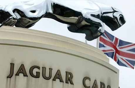 Indian group poised for £1bn cars deal.File photo dated 17/09/2004 of the Jaguar emblem outside the plant at Castle Bromwich, Birmingham. India's Tata conglomerate today looked to be in pole position to complete the £1 billion acquisition of Ford's Jaguar and Land Rover car marques. Issue date: Friday December 21, 2007. The tea and steel maker is to be named as favoured suitor for two of Britain's most famous car names after a six-month takeover tussle. See PA story CITY Ford. Photo credit should read: Rui Vieira/PA Wire URN:5457756