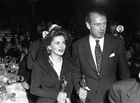 Joan Fontaine, Gary Cooper, 1942, Suspicion