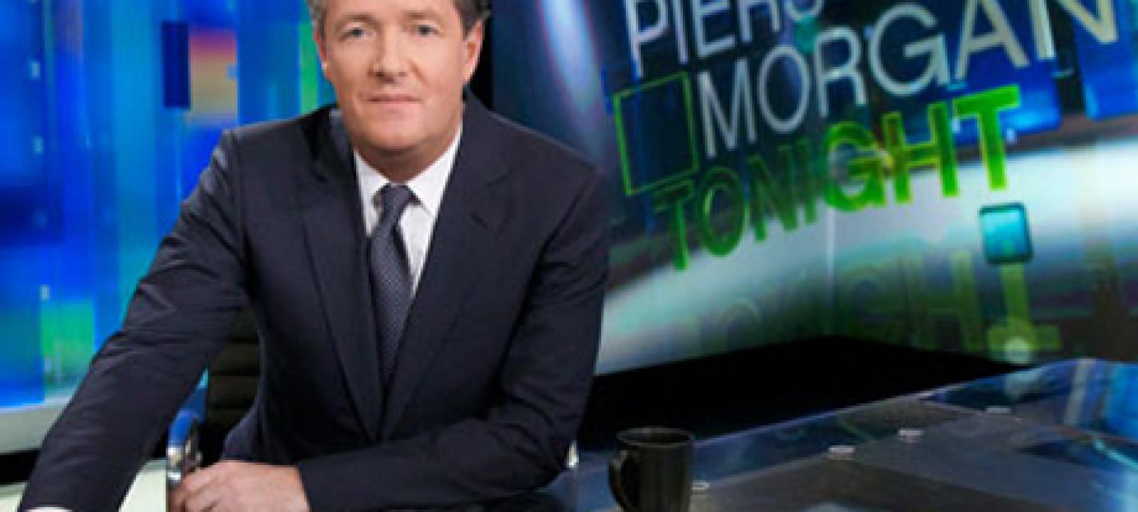 Piers Morgan, ON TV
