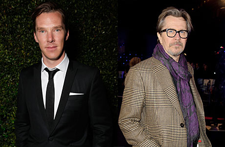 Benedict Cumberbatch and Gary Oldman (AP Images)