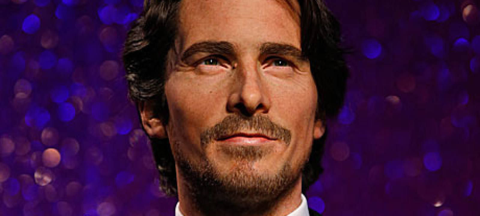 Christian Bale's waxwork at Madame Tussauds