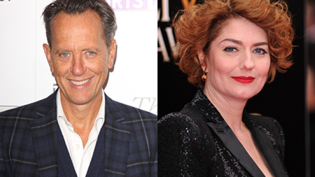 Richard E. Grant and Anna Chancellor