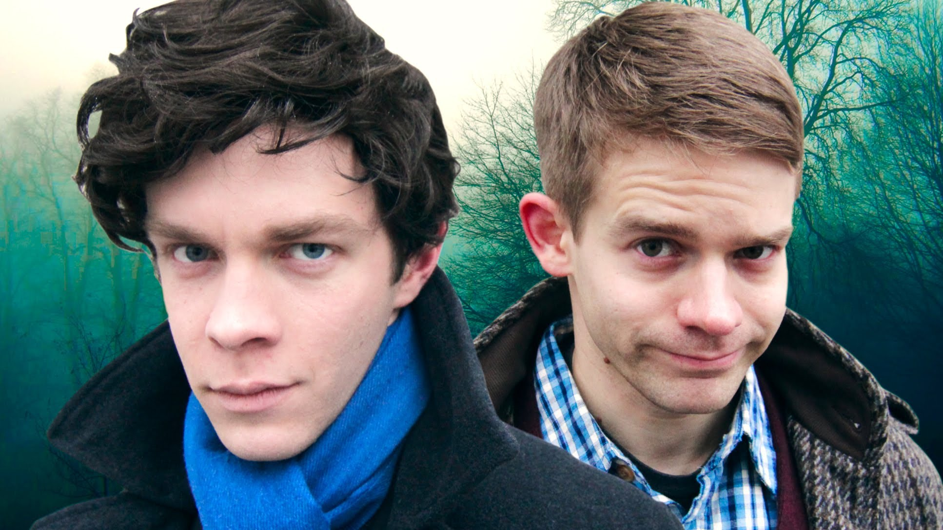 Travis Kent and Andrew Keenan-Bolger as Sherlock and Watson. (AVbytes)