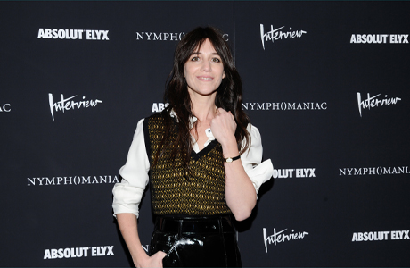 "Charlotte Gainsbourg at the New York premiere of ""Nymphomaniac."" (Photo: Evan Agostini/Invision/AP)"